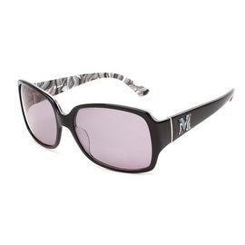 Missoni Women's Rectangular Oversized Sunglasses Black - Small