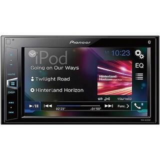 "Pioneer 6.2"" D.Din Digital Media A/V Receiver with Bluetooth"