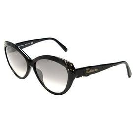 John Galliano Women's Cat Eye Sunglasses Black - Small