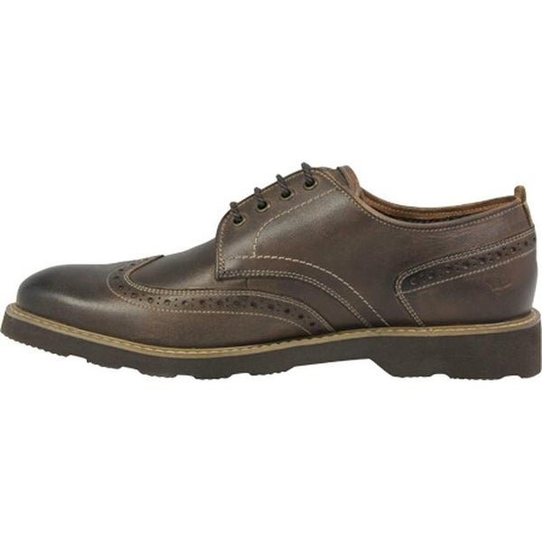 Casey Wing Tip Oxford Brown Leather