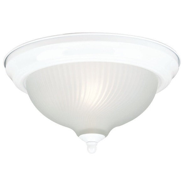 Westinghouse 66378 Single-Light Ceiling Fixture, White