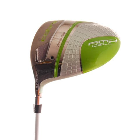 New Cobra AMP Cell Pearl Green Driver VLCT-SP 50 Ladies Flex LEFT HANDED +HC