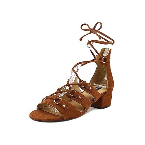 Design Lab Womens Eldy Dress Sandals Block Heel