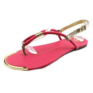 Madeline Anything Else Open Toe Synthetic Thong Sandal