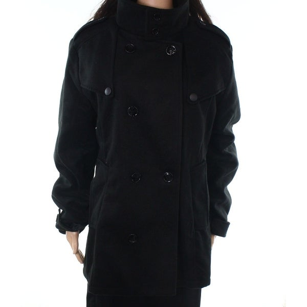 Tom's Ware Black Women's Size Large L Double Breasted Jacket