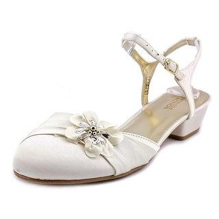 Kenneth Cole Reaction Belle Flower Open Toe Canvas Sandals