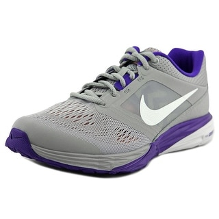 Nike Tri Fusion Run Women Round Toe Synthetic Gray Sneakers
