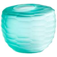 Cyan Design Small Seafoam Dreams Vase Seafoam Dreams 4.5 Inch Tall Glass Vase