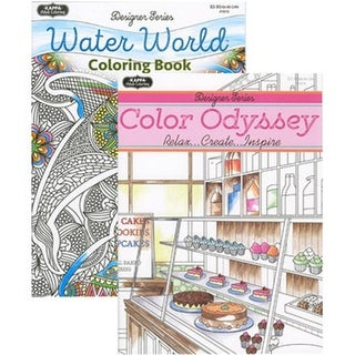 DDI Wildlife to Color & Joy of Coloring Book for Adult Case of 48