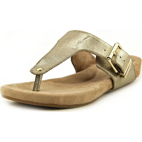 Giani Bernini Ryanne Women Open Toe Synthetic Gold Sandals