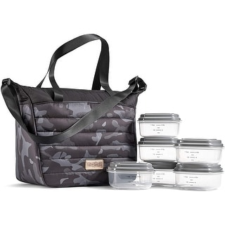 Camo Fit /& Fresh Thayer Insulated Lunch Bag Kit