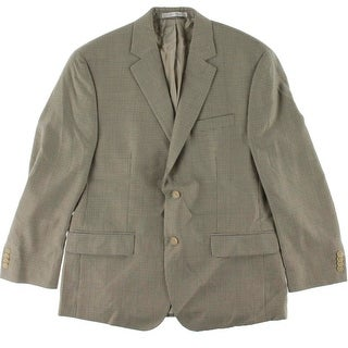 MICHAEL Michael Kors Mens Houndsooth Double Vented Two-Button Blazer