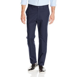 "Nautica Men's Marina Chinos Navy Pants Size 42""W x 32""L - Blue - 42X32"