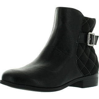 Nine West Girls Shea Quilted Ankle Booties
