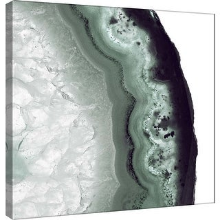 """PTM Images 9-101159  PTM Canvas Collection 12"""" x 12"""" - """"Sage Agate B"""" Giclee Minerals and Rocks Art Print on Canvas"""
