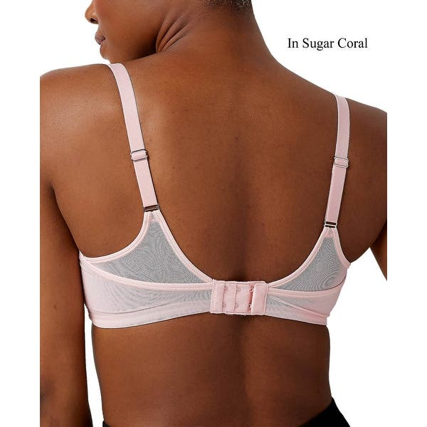 Breezies Womens Smooth Radiance Wirefree T Shirt Bra 46d Sugar Coral A350861 Overstock 31925736