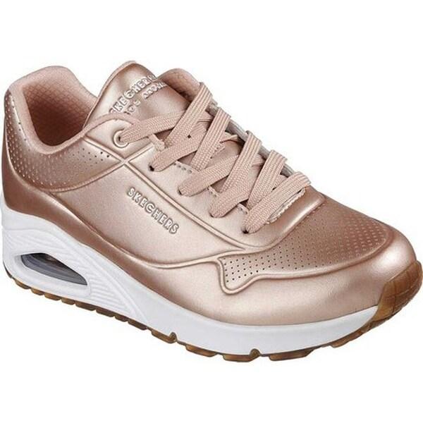 Shop Skechers Women's Uno Rose Bold Sneaker Rose Gold