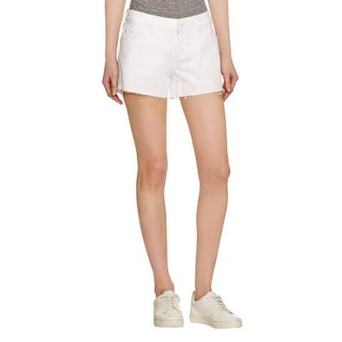 DL1961 Womens Renee Denim Shorts Cut Off Stretch