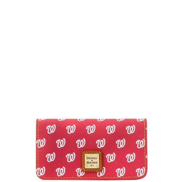 Dooney & Bourke MLB Nationals Large Slim Phone Case (Introduced by Dooney & Bourke at $78 in May 2015) - Red