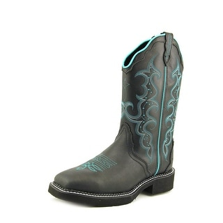 Justin Boots L2902 Square Toe Leather Western Boot