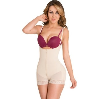 Powernet Butt Lifter Slimming Body Shaper Strapless Post-Surgery Postpartum Girdle Fajas Colombianas