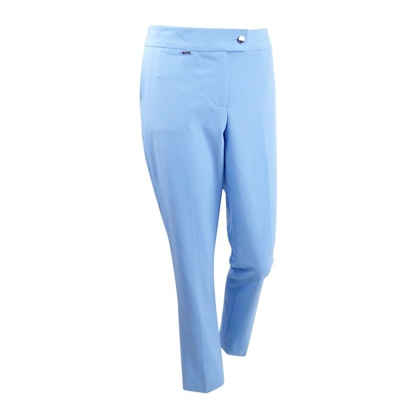 9fe182673 Shop Tahari ASL Women's Bi-Stretch Pants - French Blue - On Sale - Free  Shipping On Orders Over $45 - Overstock - 22251093