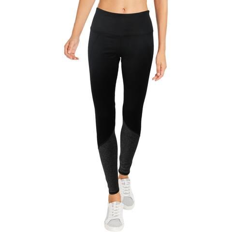 Splendid Women's Colorblock Sweat Wicking Activewear Fitness Leggings