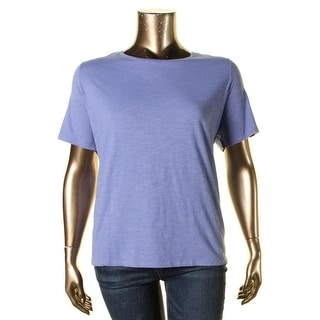 Eileen Fisher Womens T-Shirt Jersey Top - 2x