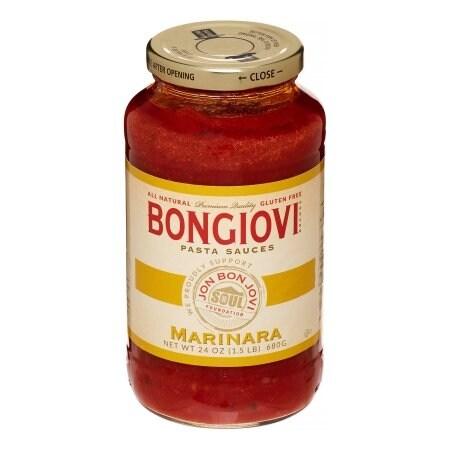 Bongiovi Brand Pasta Sauce - Marinara - Case of 6 - 24 oz.