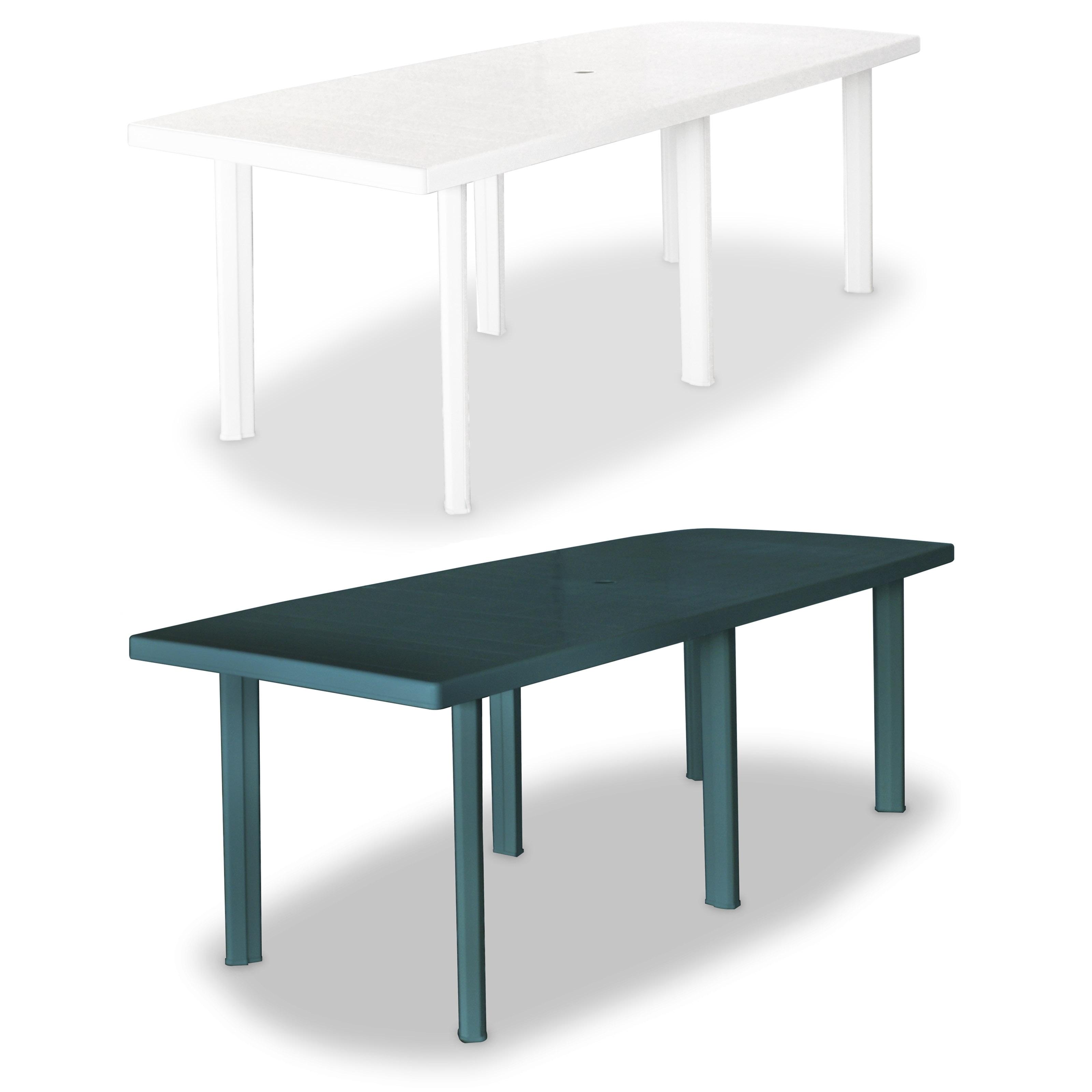Sensational Vidaxl Garden Table 82 7 Plastic Outdoor Dining Camping Table Dailytribune Chair Design For Home Dailytribuneorg