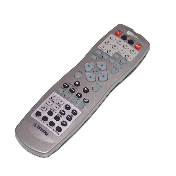 OEM Yamaha Remote Control Originally Shipped With: DVXC300SW, DVX-C300SW, DVXC300SWBU, DVX-C300SWBU, DVXC300T, DVX-C300T