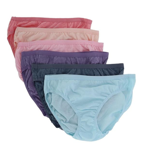 Pack of 6 Fruit of the Loom Womens Underwear