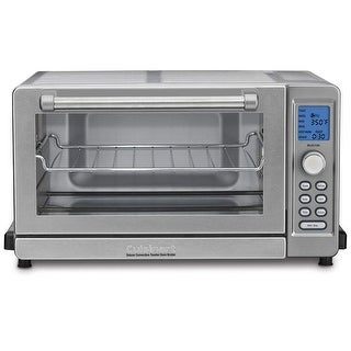 Cuisinart TOB-135FR Deluxe Convection Toaster Oven & Broiler, Silver, Certified Refurbished