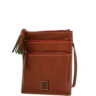 Dooney & Bourke Florentine North South Triple Zip (Introduced by Dooney & Bourke at $158 in May 2012) - Chestnut
