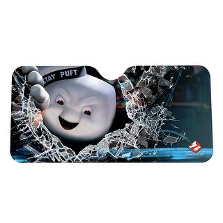 Ghostbusters Angry Stay Puft Auto Sunshade - multi