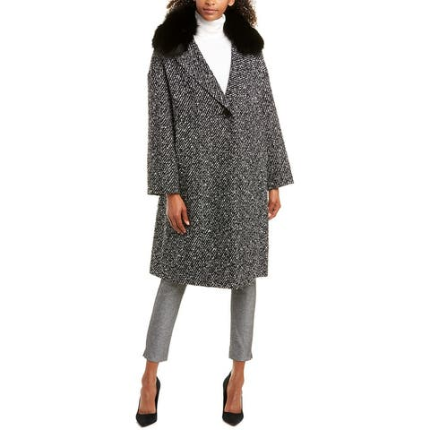 Escada Wool-Blend Coat