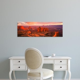 Easy Art Prints Panoramic Images's 'Canyonlands National Park UT USA' Premium Canvas Art