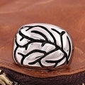 Vienna Jewelry Tree Branch Stainless Steel Skull Ring - Thumbnail 1