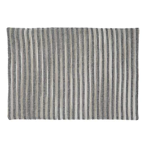 Table Placemats With Corded Line Design (Set of 4)