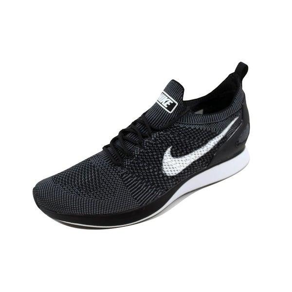 Nike Men's Air Zoom Mariah Flyknit Racer Black/White-Dark Grey 918264-001