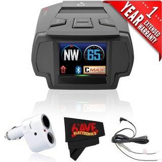 Cobra Electronics SPX 7800BT Radar/Laser/Camera Detector (1 Year Extended Warranty)