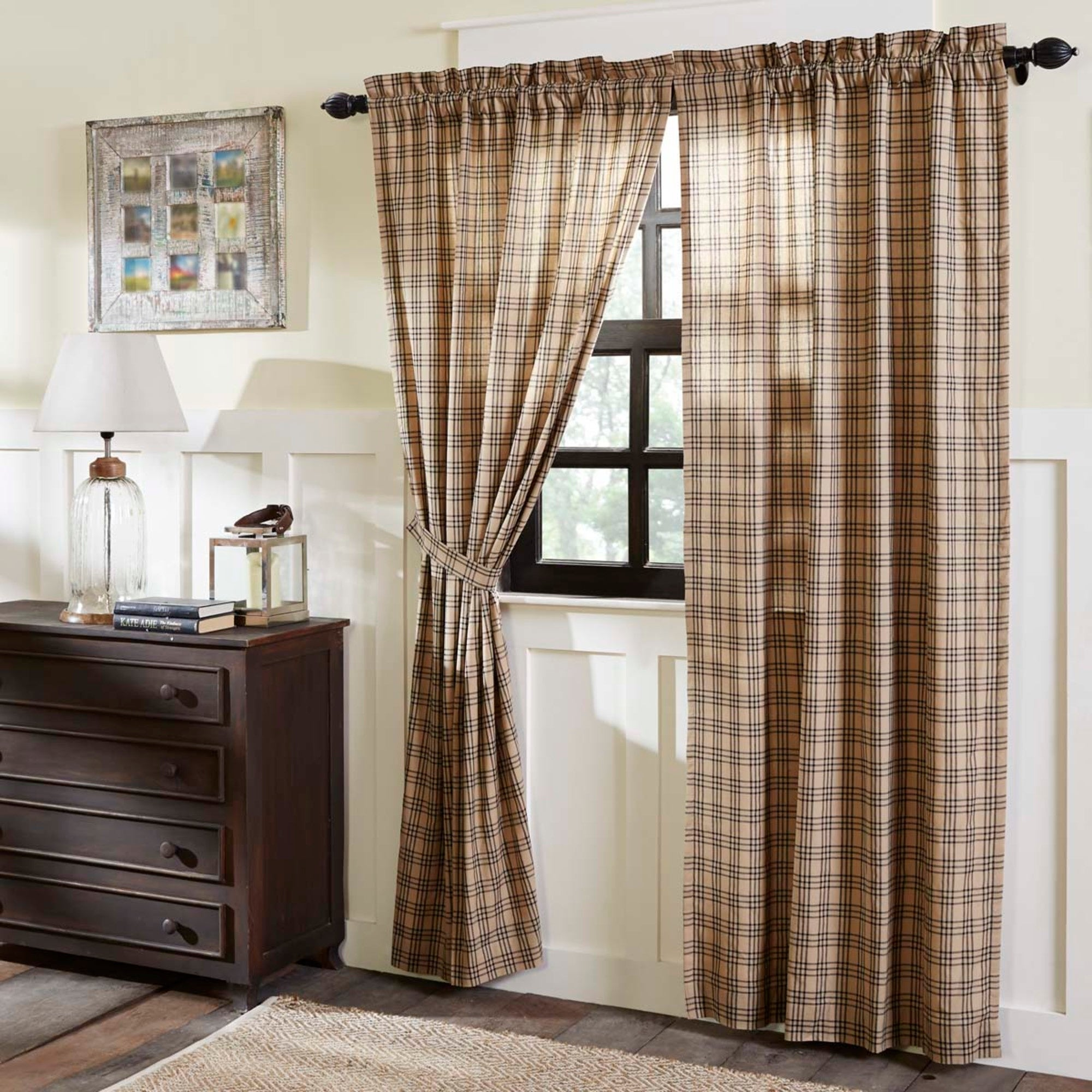 Curtains Blinds Accessories Sawyer Mill Country Curtain Drapes Prairie Panel Set 3 Colors Vhc Farmhouse 84 L Home Furniture Diy Mhg Co Ke