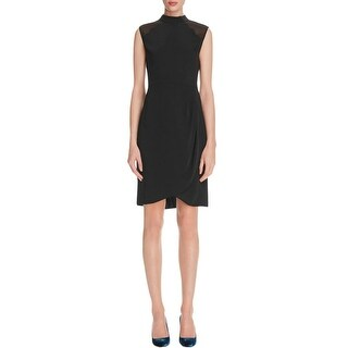 Cooper & Ella Womens Party Dress High Neck Chic