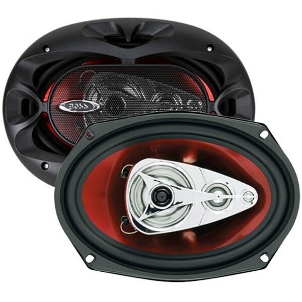BOSS Audio CH6940 500 Watt (Per Pair), 6 x 9 Inch, Full Range, 4 Way Car Speakers (Sold in Pairs)