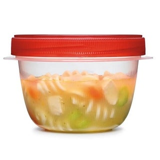 Rubbermaid 7H9900TCHIL TakeAlongs 1 Cup Twist Seal Containers