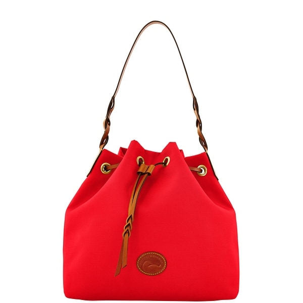 Dooney & Bourke Nylon Drawstring (Introduced by Dooney & Bourke at $139 in Mar 2012) - Red