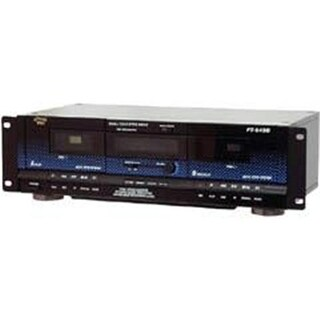 Pyle Dual Cassette Deck with Dynamic Noise Reduction PT-649D