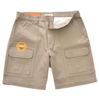 Savane Men\u0027s Comfort Hiking Cargo Shorts