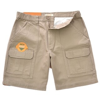 Savane Men's Comfort Hiking Cargo Shorts