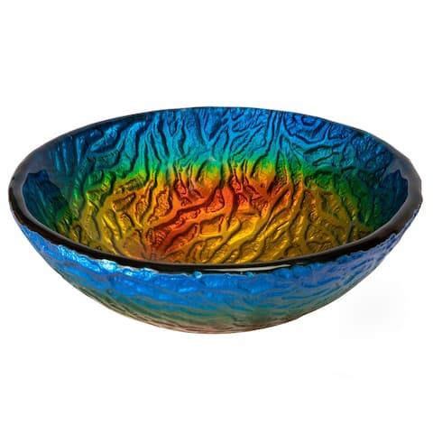 Eden Bath 14-in True Planet Glass Vessel Sink